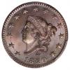 1820 Coronet Cent