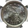1852-1c-MS65bn-CAC